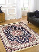 Teppich Orientalisch Position klassisch Teppich RUBINE 317-blu Cm.200x290 blau