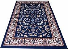 Teppich orientalischen Motiv Klassisch - billige Teppich mit persischen Design ROYAL SHIRAZ 2079-BLUE 140x210