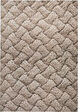 Teppich Oskar, braun (60/90 cm)