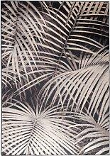 Teppich - Palm - 170x240 cm - Schwarz