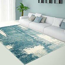 Teppich Pastell Modern Designer Wohnzimmer Schlafzimmer Läufer Inspiration Arte Vintage Pastell-Blau Grau NEU, Größe in cm:120 x 170 cm;Farbe:Blau
