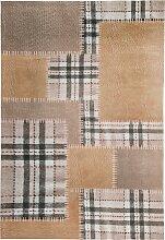 Teppich Patch, beige (60/90 cm)