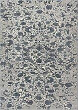 Teppich Pearl in Dunkelgrau Longweave