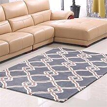 Teppich Persönlichkeit Modern Ländlich Kreativ Wohnzimmer Schlafzimmer Sofa Couchtisch Bedside Rectangle Thicker Teppich ( farbe : #3 , größe : 120*170cm )