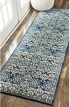 Teppich Plumville in Blau ClassicLiving