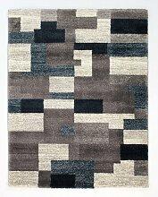 Teppich Puryear in Grau/Petrol ModernMoments