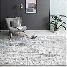 Teppich raumdeko Einfache Reinigung grau schwarzer