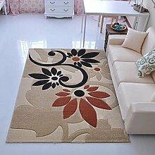 Teppich Rechteckiger Bereich Teppich, Teppich der Tür Eingang Teppich Türmatten Wohnzimmer Teppich Couchtisch Matten ( Farbe : C , größe : 60*90cm )