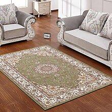 Teppich Rechteckiger Teppich Europäischer Teppich Wohnzimmer Schlafzimmer Bereich Teppich ( Farbe : B , größe : 160*230cm )