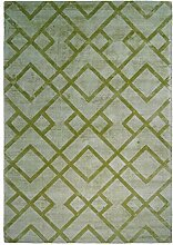Teppich Retro Design geometrische Muster modern