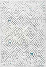 Teppich Retro Design Rauten Muster elegant modern