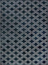 Teppich - Retro - Dunkelblau