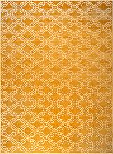 Teppich - Retro - Gelb