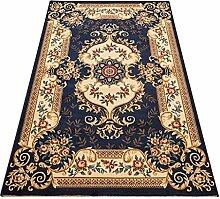Teppich Retro Ländliche Mode Wohnzimmer Schlafzimmer Sofa Couchtisch Bedside Rectangle Teppich ( farbe : # 5 , größe : 133*190cm )