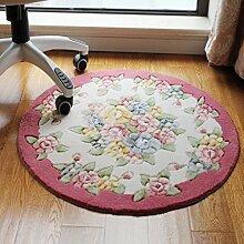 Teppich, rose Dicker runde Schlafzimmer Kosmetik