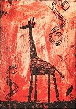 Teppich Roya, rot (60/90 cm)