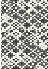 Teppich Rubie in Grau Longweave