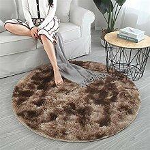Teppich Rund - Hochflor, Langflor Modern Teppiche
