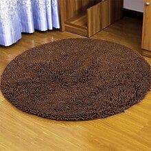 Teppich runde computer stuhl schlafzimmer schwimmende fenster bett decke drehstuhl yoga matte , 003 , diameter 100cm