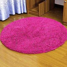 Teppich runde computer stuhl schlafzimmer schwimmende fenster bett decke drehstuhl yoga matte , 004 , diameter 100cm