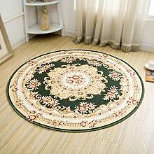 Teppich-runder Couchtisch-Schlafzimmer-Computer-Kissen-runder Teppich-Raum-Matte , 4 , diameter 80cm
