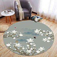 Teppich Runder Teppich Wohnzimmer Schlafzimmer