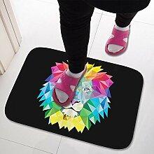 Teppich,rutschfeste, Zottelige, Farbenfrohe, Mit