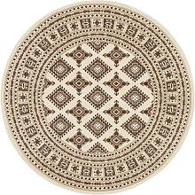 Teppich, Sao Buchara, NOURISTAN, rund, Höhe 9 mm,