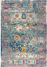 Teppich Saraghna in Blau BohoLiving
