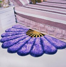 Teppich Schlafzimmer Front Bett decken Chinesen Hochzeit Teppich Teppiche Wohnzimmer Teppiche (800MMx1500MM, Purple)
