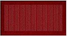 Teppich Schlafzimmer und Wohnzimmer mit Rückseite rutschfest Position Stripes by Suardi 85x150 ro