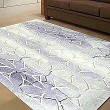 Teppich/Schnittblumen Couchtisch Sofa Wohnzimmer Schlafzimmer Teppich und Wolle und Seide Teppiche-B 160x230cm(63x91inch)