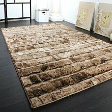 Teppich Schulz in Braun LoftDesigns
