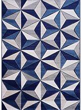 Teppich Senoia in Blau Longweave