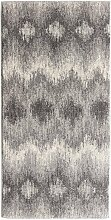 Teppich Sevilla Aspen silver/grey 67x130cm, 67 ×