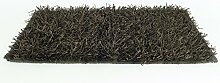 Teppich Shaggy 120x180cm braun