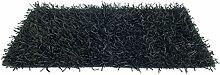 Teppich Shaggy 60x160cm schwarz