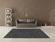 Teppich Shaggy Uni Soft Anthrazit 120x 160cm