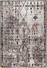 Teppich Shari, grau (133/190 cm)