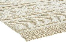 Teppich Sharon aus Baumwolle mit Struktur 1, ca.