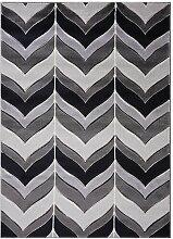Teppich Siloam in Grau Longweave