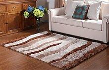 Teppich Simple European Style Wohnzimmer Schlafzimmer Sofa Couchtisch Bedside Rectangle Anti-Rutsch-Teppich ( farbe : #3 , größe : 1.2*1.8m )