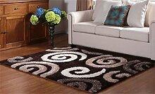 Teppich Simple European Style Wohnzimmer Schlafzimmer Sofa Couchtisch Bedside Rectangle Anti-Rutsch-Teppich ( farbe : #8 , größe : 0.71*1.41m )