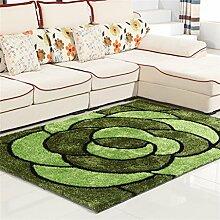 Teppich Simple Modern Wohnzimmer Schlafzimmer Sofa Couchtisch Bedside Rectangle Dicker Teppich Komfortabel und weich ( farbe : # 5 , größe : 1.4*2.0m )