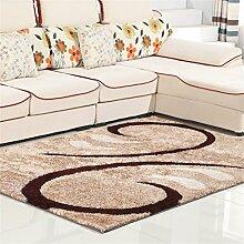 Teppich Simple Modern Wohnzimmer Schlafzimmer Sofa Couchtisch Bedside Rectangle Dicker Teppich Komfortabel und weich ( farbe : # 6 , größe : 1.4*2.0m )
