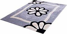 Teppich Simple Modern Wohnzimmer Schlafzimmer Sofa Couchtisch Bedside Rechteck rutschfesten Teppich weich und komfortabel ( farbe : #11 , größe : 140*200CM )