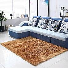 Teppich Simple Wohnzimmer Schlafzimmer Sofa Couchtisch Bedside Rectangle Dicker Teppich Komfortabel und weich ( farbe : #9 , größe : 71*141cm )