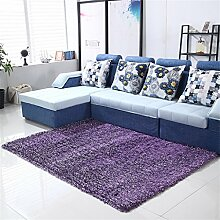 Teppich Simple Wohnzimmer Schlafzimmer Sofa Couchtisch Bedside Rectangle Dicker Teppich Komfortabel und weich ( farbe : #7 , größe : 71*141cm )