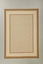 Teppich Sisal Optik braun 60 x 110 cm