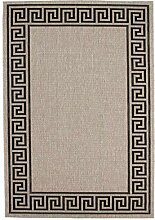 Teppich Sisal Optik klassisch modern Ornament